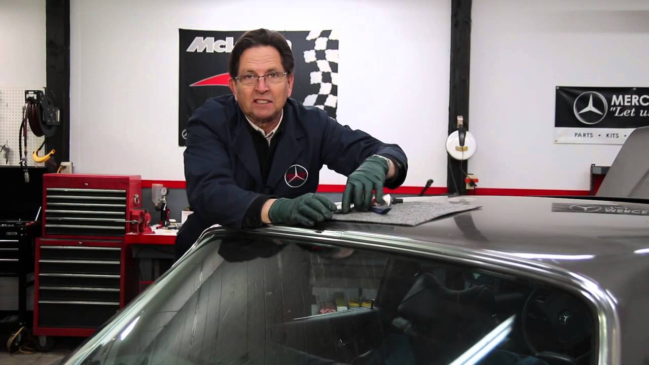 Tip To Help Keep Mercedes Window Trim Edge Cover Plates In