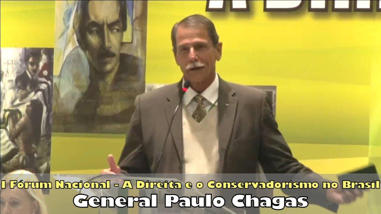 Palestra 7 - General Paulo Chagas - Intervenção, Desarmamento, Regime Militar e Rede Globo