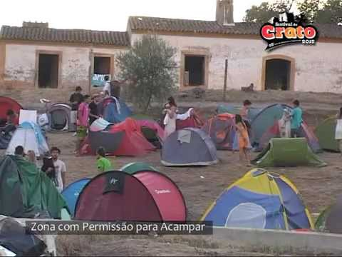 Zona com Permissão para Acampar no Festival do Crato 2012 Travel Video