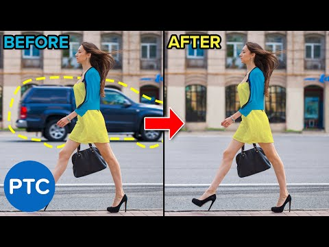 How To Remove ANYTHING From a Photo In Photoshop