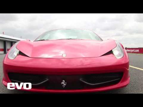 Ferrari 458 Italia Track Test - evo Magazine