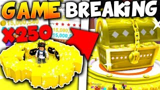 DEFEATING THE GOLDEN DOMINUS CHEST IN 40 SECONDS..!! (GAME BREAKING!) - Roblox pet Simulator