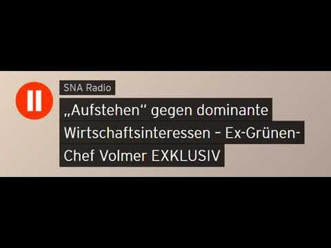 """""""Aufstehen"""" gegen dominante Wirtschaftsinteressen – Ex-Grünen-Chef Volmer (Sputniknews)"""