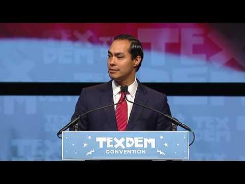 Julian Castro at the 2016 Texas Democratic Convention
