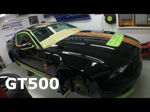 Ceramic Pro  Detailing a Black 2014 Shelby GT500