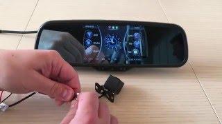 Зеркало-регистратор Prime-X 043/105 на ОС Android, с навигатором, WIFI, FM трансмиттером.