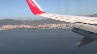 посадка в пальма де майорка (исключительно в 1080p)(на видео засветился американский авианосец