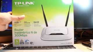 TP Link TL WR841N Wireless N Router WiFi Password changing