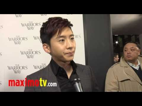 "BRIAN JOO Interview at ""The Warrior's Way"" Los Angeles Screening"