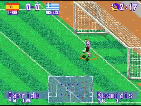 International Superstar Soccer Deluxe (Super Nintendo)