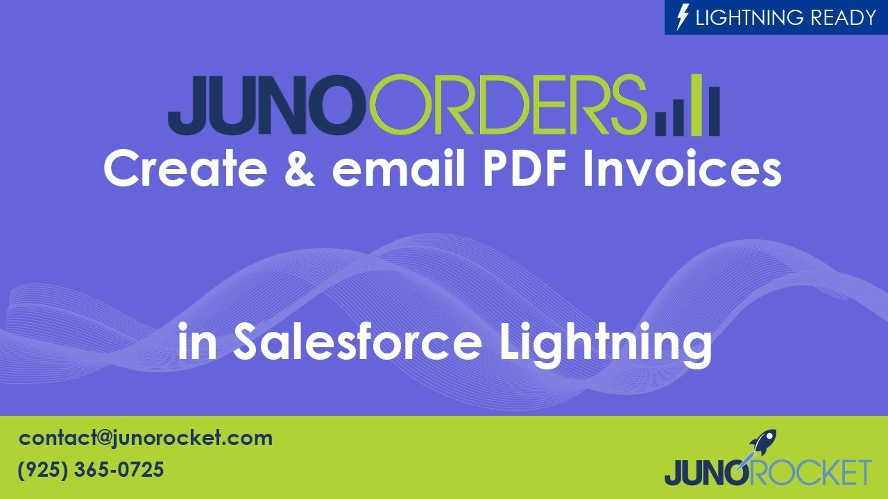 Need A Receipt Pdf Create  Email Pdf Invoices In Salesforce Lightning Using Juno  Rent Receipts Pdf Excel with Invoice Letterhead Word Create  Email Pdf Invoices In Salesforce Lightning Using Juno Orders Sample Sales Invoice Pdf