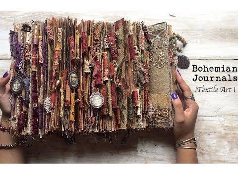 Bohemian Journals  | TEXTILE ART |
