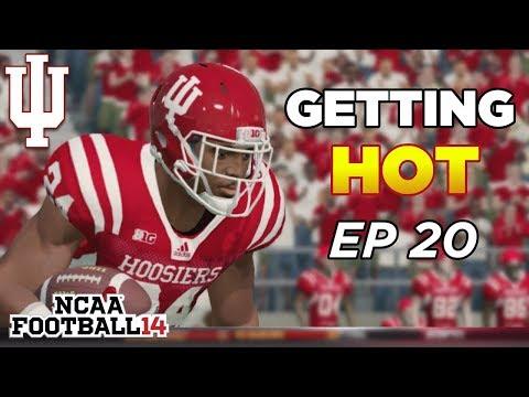 NCAA Football 14 Dynasty | Indiana Hoosiers - 3OT?! UPSET OR WINNING STREAK? - Ep 20