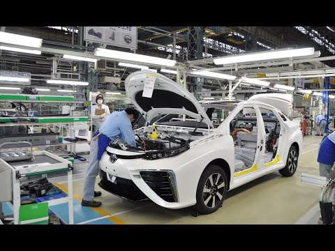 Toyota Mirai Production
