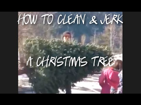 How To Clean & Jerk a Christmas Tree