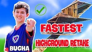 How To Copied Sen Bugha Fortnite High Ground Retakes..? | Fortnite Compilation