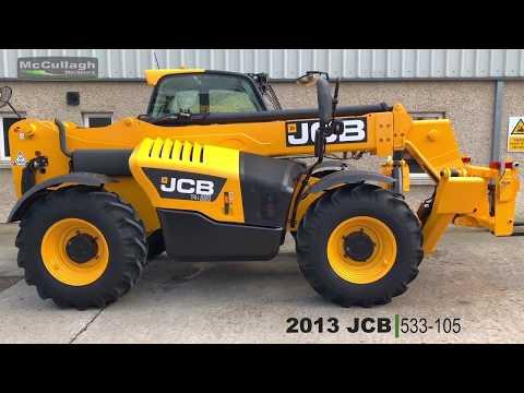 2013 JCB 533-105