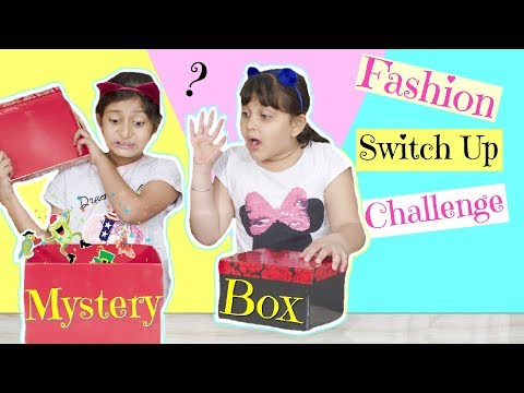 MYSTERY BOX - Fashion SWITCH UP Challenge | #Roleplay #Fun #MyMissAnand