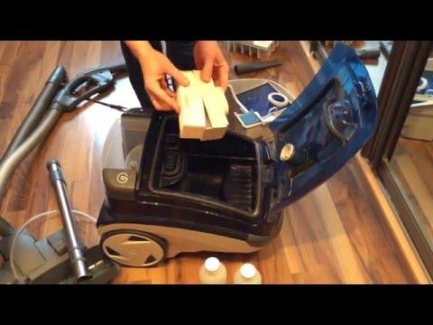 Как собрать моющий пылесос томас для влажной уборки видео