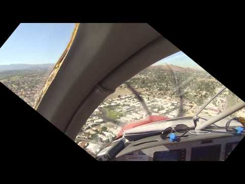 RV10: Flight Home from Perris Valley to Van Nuys