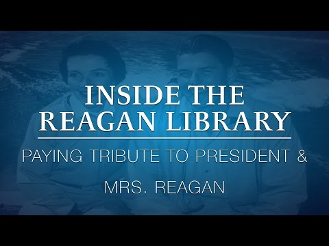 Inside the Reagan Library: Paying Tribute to President & Mrs. Reagan