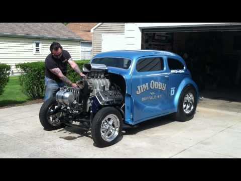 392 HEMI AA/GS GASSER break in Start up ODDY AUSTIN ADRL