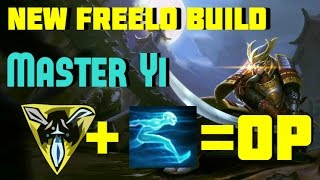 Free Elo Master Yi Build TriForce Ghost OP Road To Level 7 $10 RP Giveaway