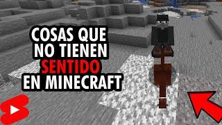 Cosas que NO tienen SENTIDO en Minecraft