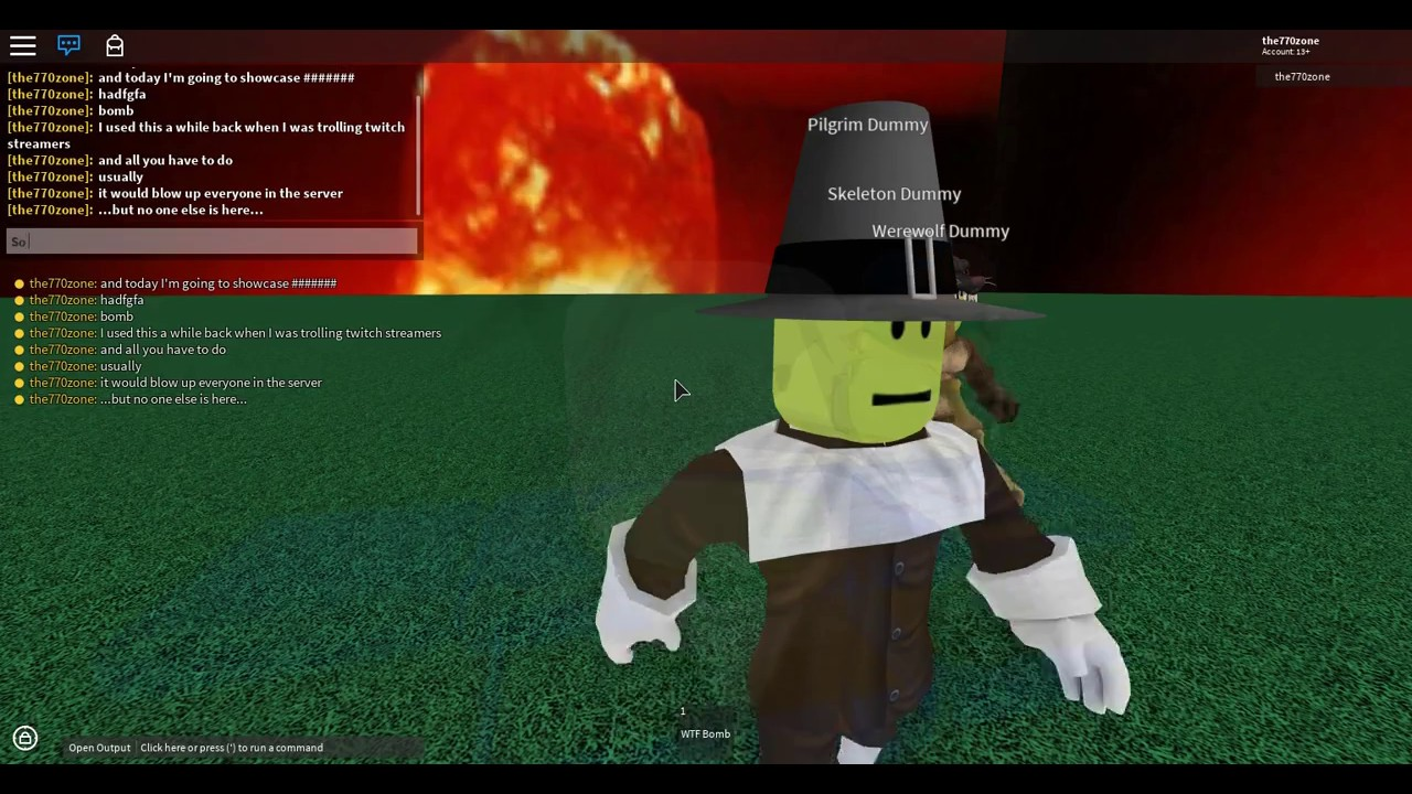 Run Bomb Roblox - Roblox Script Showcase Wtf Bomb Youtube