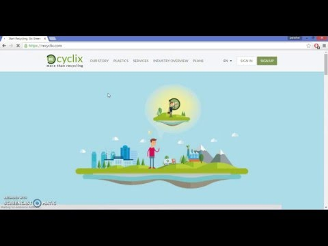 Recyclix  Tutorial 1