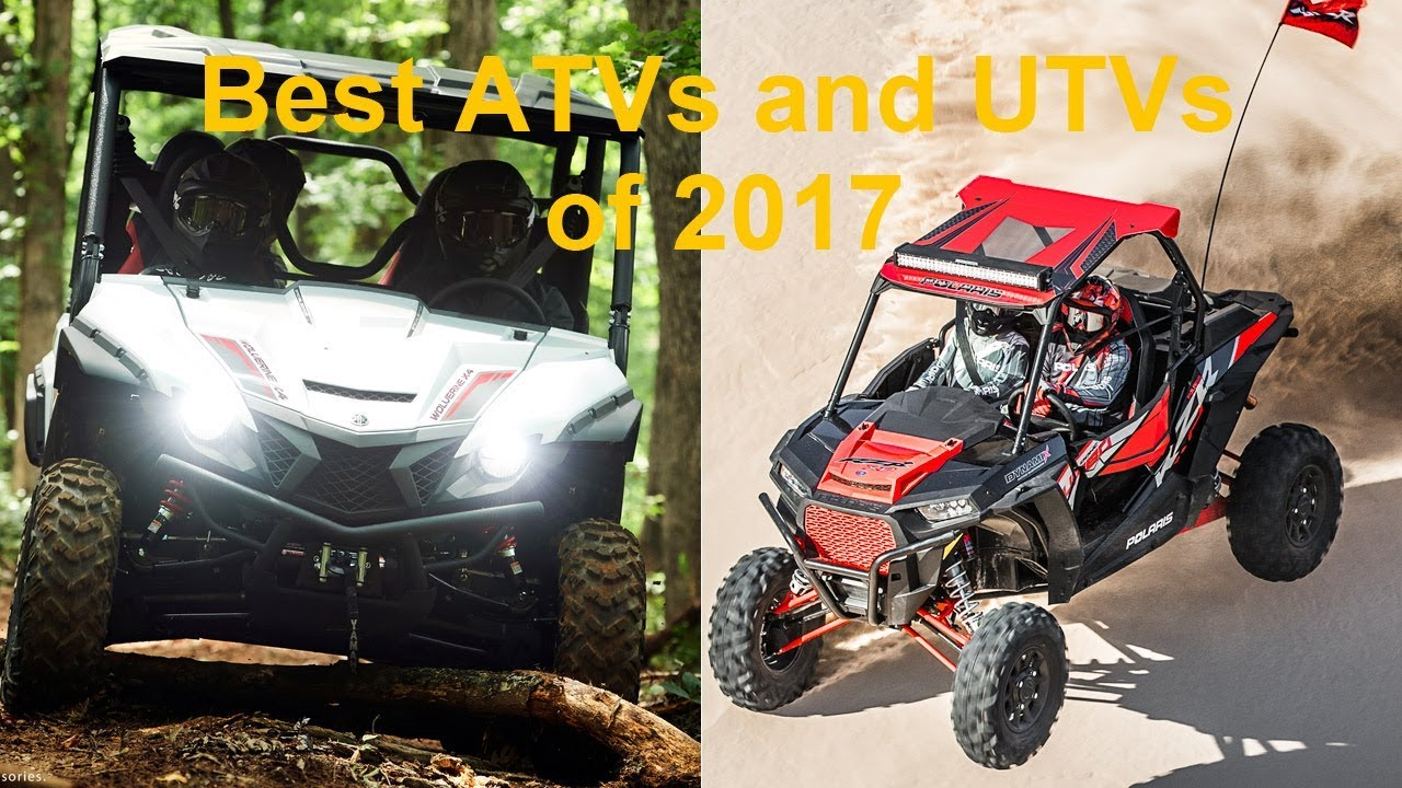 Best ATVs UTVs of 2017 - Dauer: 2 Minuten, 37 Sekunden