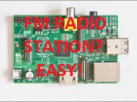 Want to make a mini FM Radio Station? Easy! -Raspberry Pi Project