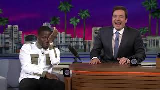 Jimmy and Kevin Hart Ride a Roller Coaster10