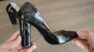 Женские кожаные туфли Elena Blanca