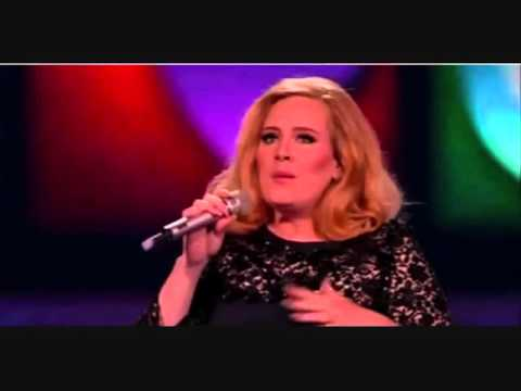 Adele Swearing At The Brits