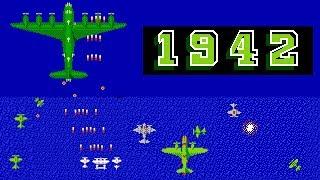 1942 One Life Full Playthrough  FC/NES Nintendo GAME 一命通关