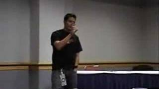 Johnny Yong Bosch Panel Part 2 of 6