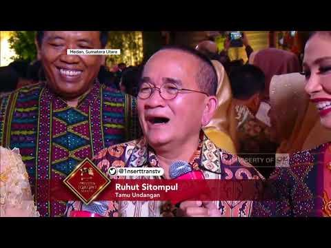 Ada Ruhut 'Poltak' Sitompul di Resepsi Pernikahan Kahiyang-Bobby di Medan