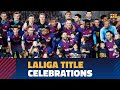 Barça celebrates the 2018/19 LaLiga title at Camp Nou