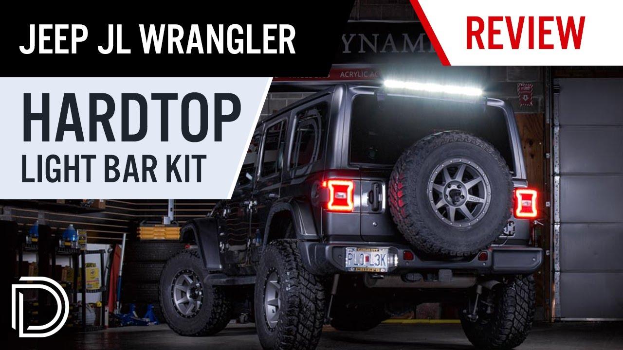 Perfect For Offroading Rear Hardtop Led Light Bar Kit For 2018 Jeep Jl Wrangler Diode Dynamics
