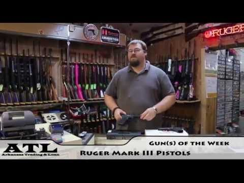 Ruger Mark III Pistols - Gun of the Week
