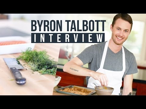 Byron Talbott on Building A YouTube Cooking Show, Hustle, and Food YouTubers