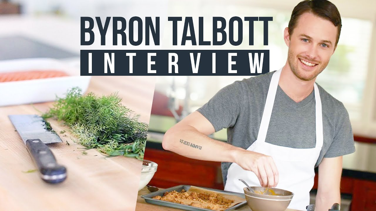 Byron talbott on building a youtube cooking show hustle and food byron talbott on building a youtube cooking show hustle and food youtubers youtube forumfinder Choice Image