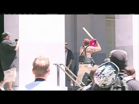 Chaos Erupts At California Capitol Over White Supremacist Demonstration