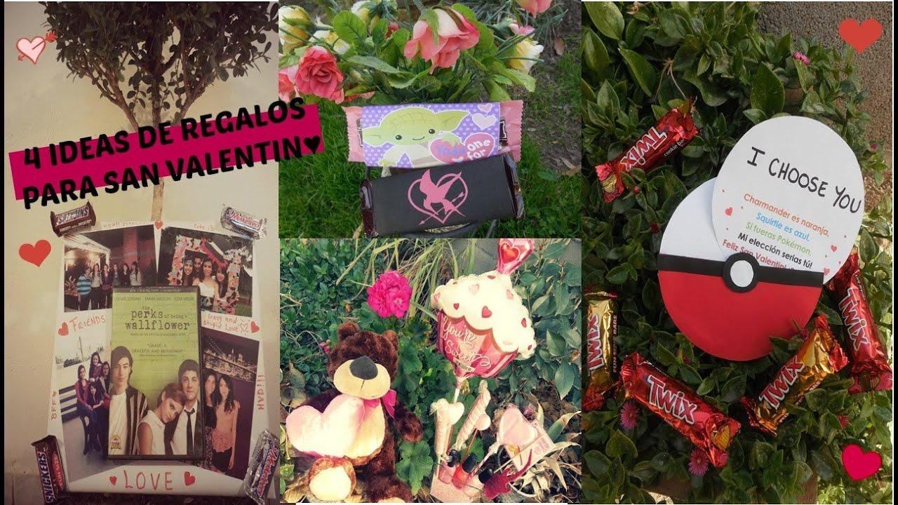 4 ideas de regalos para san valentin 3 frikis youtube - Ideas para sanvalentin ...