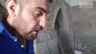 A Destroyed Masjid in Mosul, Iraq