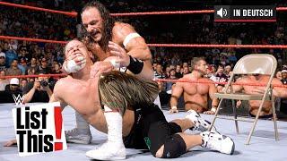 Die 5 seltensten Matches von John Cena - WWE List This! (DEUTSCH)