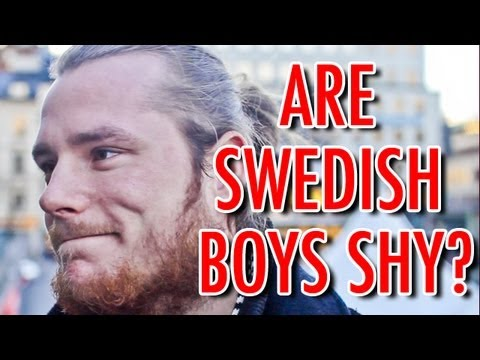 ARE SWEDISH BOYS SHY? [Part 3/3] - YouTube