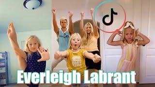 EVERLEIGH ROSE LABRANT Dance TikTok Video Compilation | Savannah & Cole LaBrant TikToks