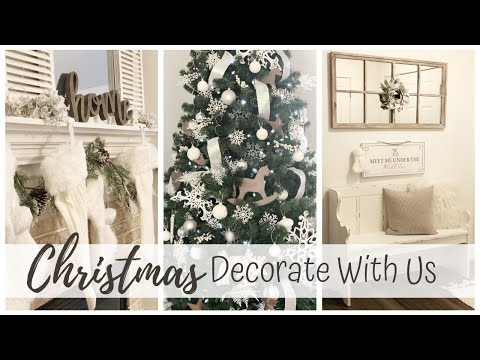 New Christmas Decorate With Us   Modern Farmhouse Christmas